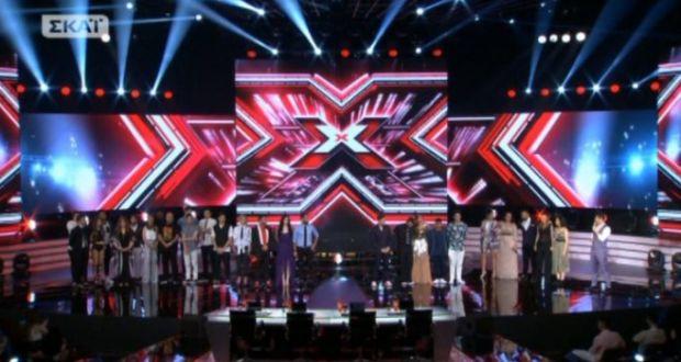 X Factor: Αυτοί οι παίκτες αποχώρησαν στο 1o live!