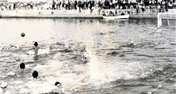 Κυριακή 17 Ιουλίου 1949 / Οι πρώτοι αγώνες υδατοσφαίρισης στο Λιμάνι Μεσολογγίου