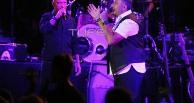 """Αντώνης Ρέμος-Eros Ramazzotti: Πάνω από 3.000 άτομα στη """"χρυσή"""" συναυλία τους στη Μύκονο!"""
