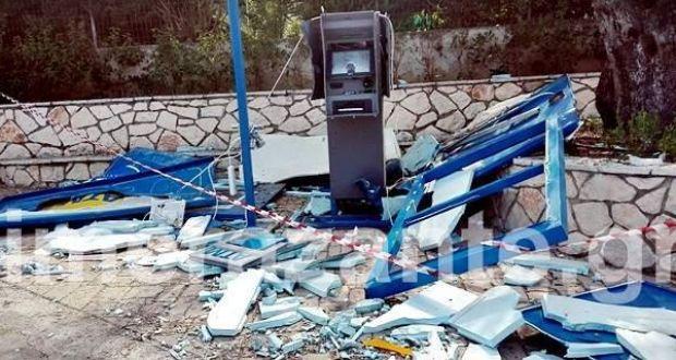 Ζάκυνθος: Άγνωστοι ανατίναξαν ΑΤΜ – Το 4ο μέσα σε ένα μήνα (Φωτογραφίες)