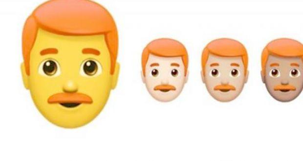 Emoji για… κοκκινομάλληδες!