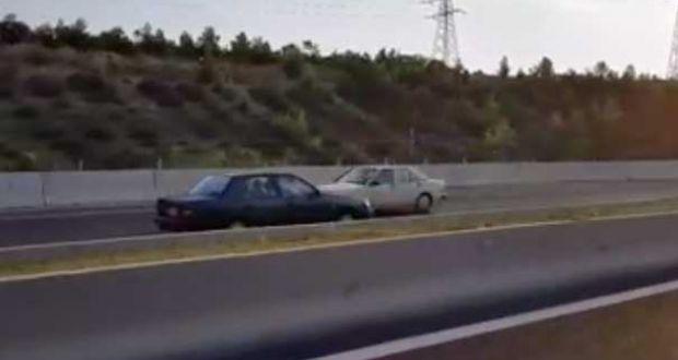 Οδηγούσε ανάποδα στην εθνική οδό Κορίνθου-Τριπόλεως! (Βίντεο)
