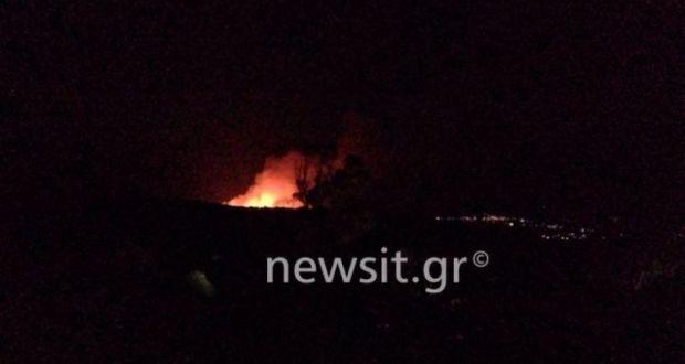 Φωτιά στην Κεφαλονιά: Νέο μεγάλο μέτωπο