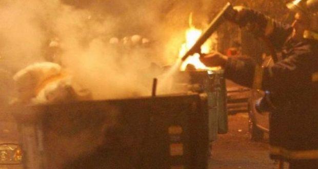 Αγρίνιο: Μπαράζ εμπρησμών σε κάδους απορριμάτων