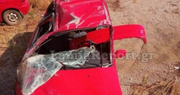 Θρήνος στη Λαμία: Νεκρός 33χρονος μετά από τροχαίο – Σμπαράλια το αυτοκίνητο (Φωτογραφίες)