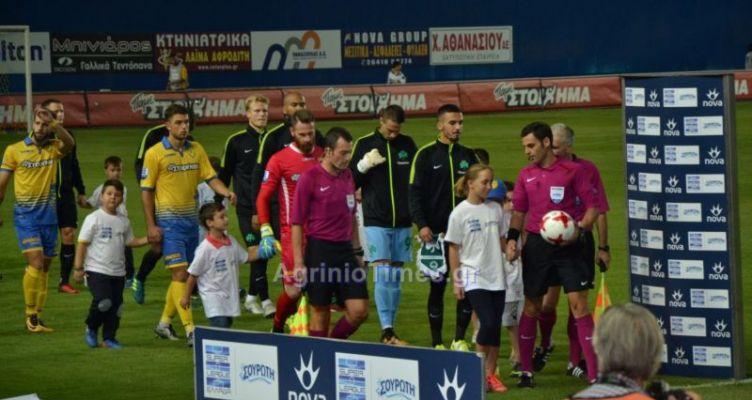 Super League: Με φιλάθλους στο Αγρίνιο ο Παναθηναϊκός