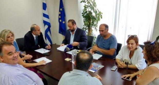 Συνάντηση Κατσιφάρα με την Διοικούσα Επιτροπή του ΤΕΕ Δυτ. Ελλάδας