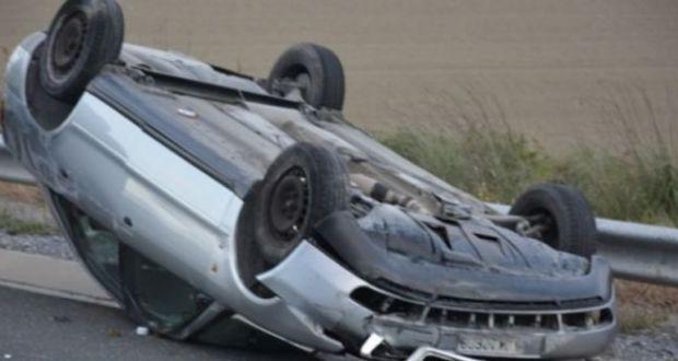 Δύο οι τραυματίες από ανατροπή του οχήματος, στη Βομβοκού Ναυπακτίας