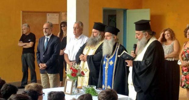 Κοντά στους μαθητές ο Περιφερειάρχης Απόστολος Κατσιφάρας