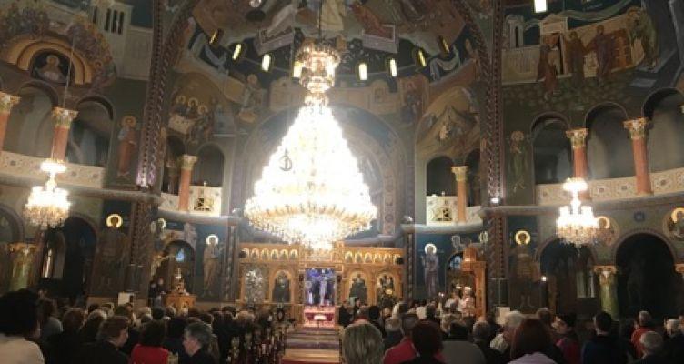 Αγρίνιο: Πανηγυρική Αρχιερατική Θεία Λειτουργία, στον Αγ. Δημήτριο (Φωτό)