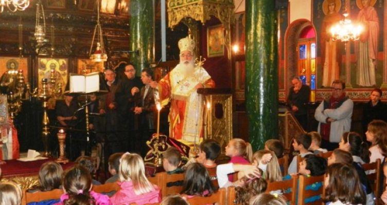 Κατηχητικά σχολεία όλων των βαθμίδων στην Αγία Τριάδα Αγρινίου – Αγιασμός και έναρξη 22 Οκτωβρίου