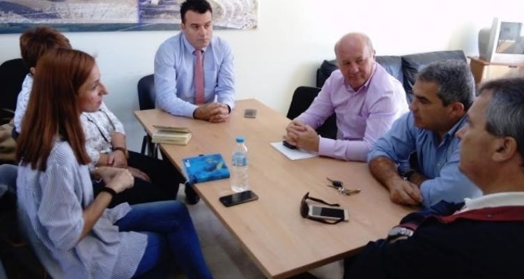 Συνάντηση εργασίας Αντιπεριφερειάρχη Ν. Μπαλαμπάνη για τον ΧΥΤΑ Μεσολογγίου