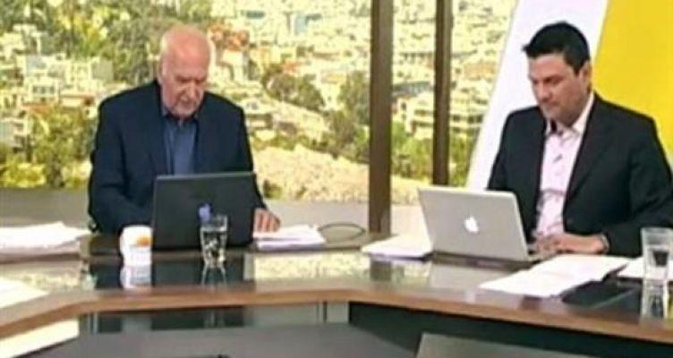 Αντί για τους καλεσμένους έφυγε ο Γιώργος Παπαδάκης από το στούντιο της εκπομπής του (Βίντεο)