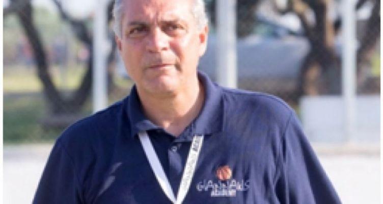 O Γ. Γράψας, τεχνικός διευθυντής, στο τμήμα μπάσκετ του Παναιτωλικού