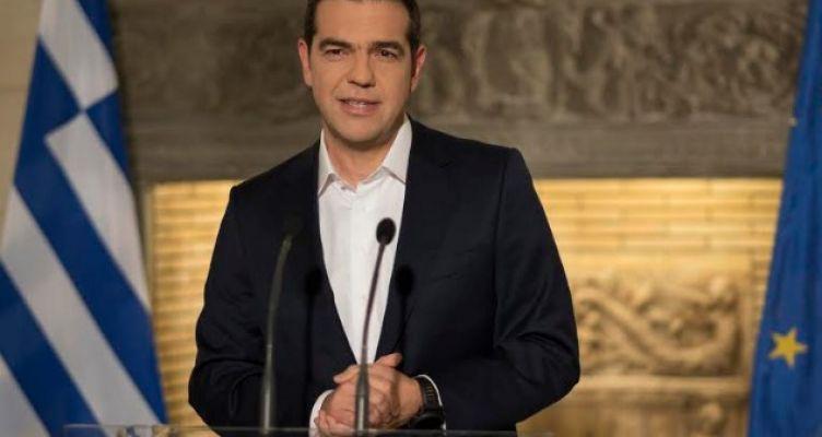 Διάγγελμα του Πρωθυπουργού Αλέξη Τσίπρα για τη διανομή κοινωνικού μερίσματος