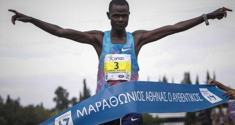 Τρεις Κενυάτες στο βάθρο των νικητών στο φετινό Μαραθώνιο – Πρώτος Έλληνας ο Κώστας Γκελαούζος