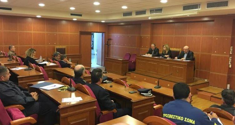 Αιτωλοακαρνανία: Σχεδιασμός για την Αντιμετώπιση Κινδύνων ενόψει της χειμερινής περιόδου
