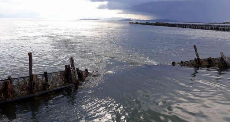 Εκτεταμένες οι καταστροφές στα Ιβάρια της Λιμνοθάλασσας Μεσολογγίου