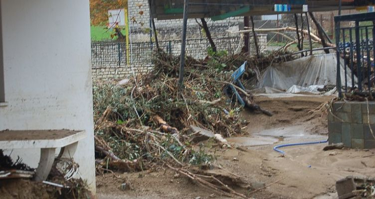 242.703 ευρώ στους πληγέντες Μεσολογγίου για τις πλημμύρες του Οκτωβρίου 2016