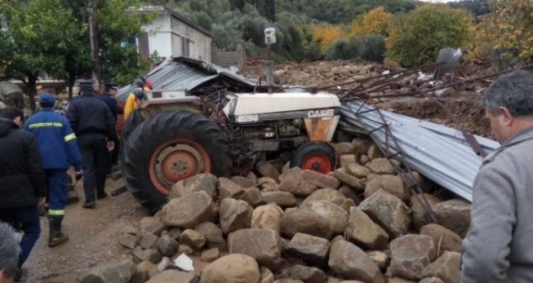 Αυτοψία αντιπροσωπείας γεωλόγων του ΓΕΩΤ.Ε.Ε. στην Αιτωλοακαρνανία