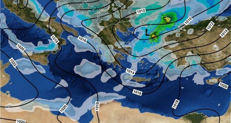 Επιδείνωση του καιρού στη Δυτική Ελλάδα το Σαββατοκύριακο – Τοπικά ισχυρά φαινόμενα