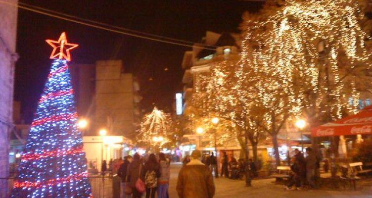 Η Φωταγώγηση του Χριστουγεννιάτικου δένδρου και το πρόγραμμα εκδηλώσεων του Δήμου Ναυπακτίας
