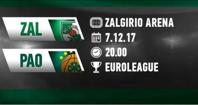 Ζαλγκίρις – Παναθηναϊκός: Live στον Agrinio937 fm, διαδικτυακά στο AgrinioTimes.gr (20:00)
