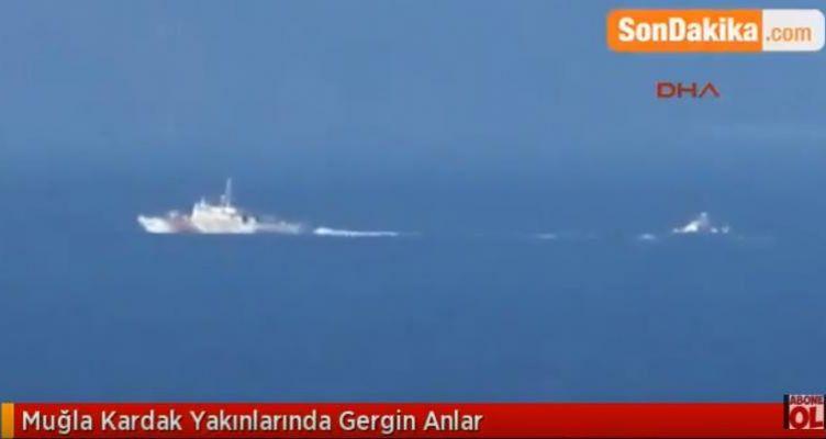Νέο θερμό επεισόδιο στα Ίμια «βλέπουν» οι Τούρκοι (Βίντεο)