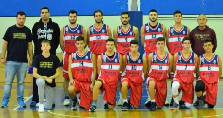 Β' Ε.Σ.ΚΑ.ΒΔ.Ε.: Ξανά στη μάχη του πρωταθλήματος οι νέοι του Χ. Τρικούπη