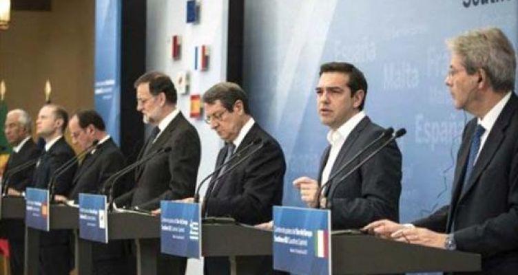 Τσίπρας στη Σύνοδο του Νότου: Η κρίση τελειώνει για την Ελλάδα με την έξοδο από τα προγράμματα τον Αύγουστο (Βίντεο)