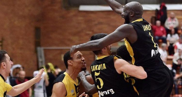 Basketball Champions League: Πρόκριση με μεγάλη ανατροπή για την Α.Ε.Κ. – Ήττα-αποκλεισμός για Π.Α.Ο.Κ.