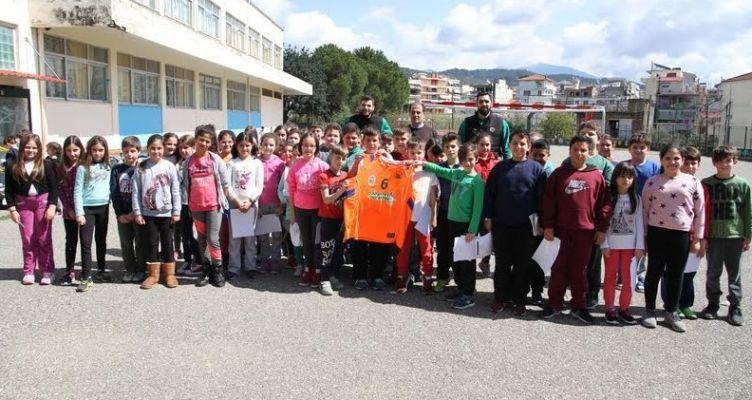 Α.Ο. Αγρινίου: Επίσκεψη στο 1ο Δημοτικό Σχολείο Αγίου Κωνσταντίνου