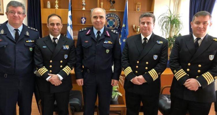 Εθιμοτυπική επίσκεψη Κεντρικού Λιμενάρχη Πατρών στη Γενική Περιφερειακή Αστυνομική Διεύθυνση Δυτ. Ελλάδας