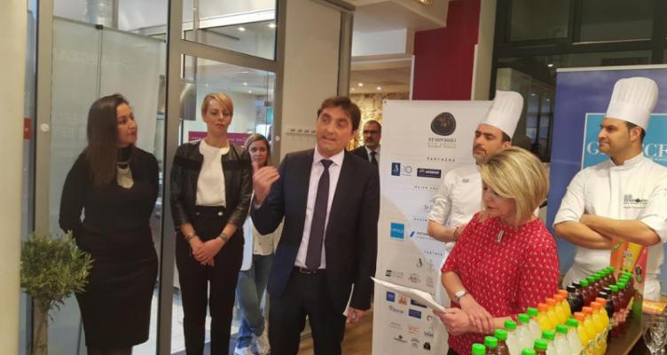 Η Γαλλία έμαθε τις γεύσεις της Δυτ. Ελλάδας – Η Π.Δ.Ε. στο Sympossio Greek Gourmet Touring (Βίντεο)