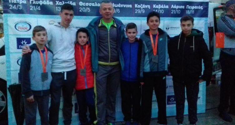 Ελπιδοφόρα μηνύματα από τους νεαρούς αθλητές της Γ.Ε.Αγρινίου