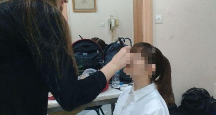Δ.ΙΕΚ Αγρινίου: Mακιγιάζ από την ειδικότητα Αισθητικής σε παράσταση του μαθητικού Φεστιβάλ Θεάτρου