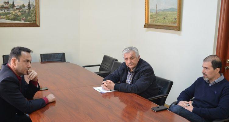 Συνάντηση του Αντιπεριφερειάρχη Αγροτικής Ανάπτυξης με τη διοίκηση του Α.Σ. ΕΝΩΣΗ ΑΓΡΙΝΙΟΥ
