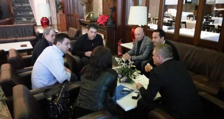 Συνάντηση του Αντιπεριφερειάρχη Κ. Μητρόπουλου, με ρουμανική αντιπροσωπεία για αγροτικά θέματα