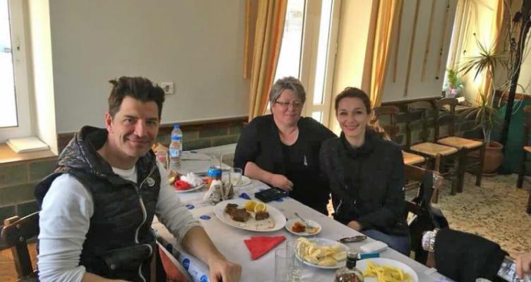 Ο Σάκης Ρουβάς επισκέφτηκε την Κομπωτή Ξηρομέρου (Φωτό)