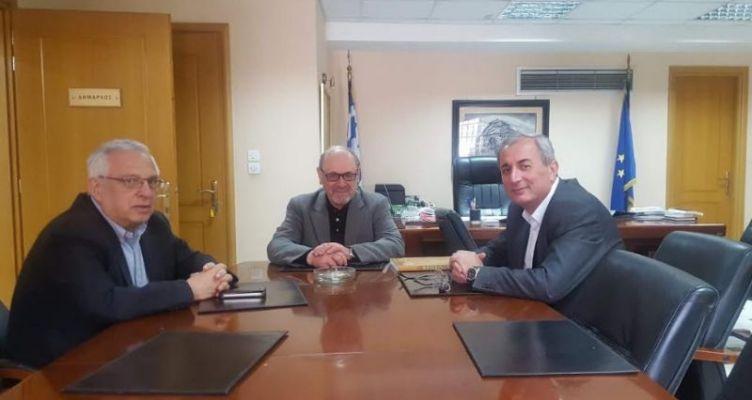 Συνάντηση Λουκόπουλου-Κωνσταντάρα για θέματα των Δήμων Ναυπακτίας και Θέρμου