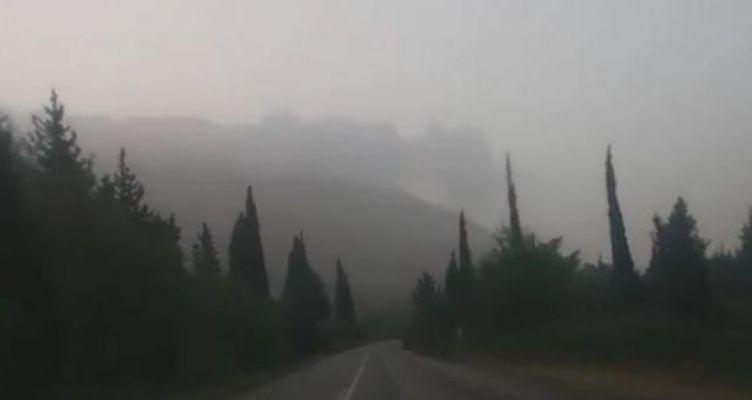 Ναυπακτία: Αποπνικτική η ατμόσφαιρα απο νωρίς το πρωί λόγω αφρικανικής σκόνης! (Βίντεο)