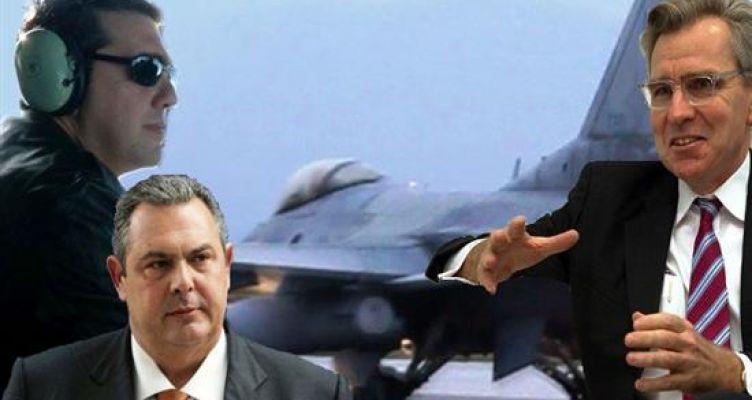 Συμφωνία αναβάθμισης των F-16: Το 48ωρο θρίλερ πριν το ΚΥΣΕΑ, οι πανηγυρισμοί Καμμένου και τα συγχαρητήρια από Πάιατ