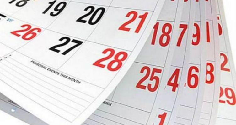 2019: Δείτε πότε πέφτουν οι Αργίες της νέας χρονιάς!