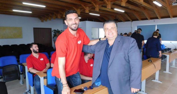 Συγχαρητήρια Καραπάνου στον «Χαρίλαο Τρικούπη» για την άνοδο στην Α2 μπάσκετ