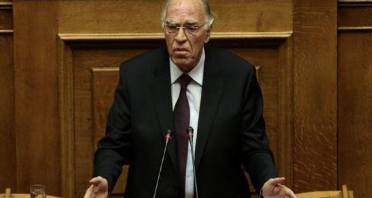 Ο Βασίλης Λεβέντης στην ολομέλεια της Βουλής για την Αναθεώρηση του Συντάγματος