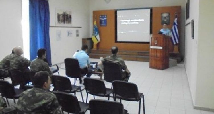 Ομιλία για την οδική ασφάλεια στο Στρατόπεδο του Μεσολογγίου