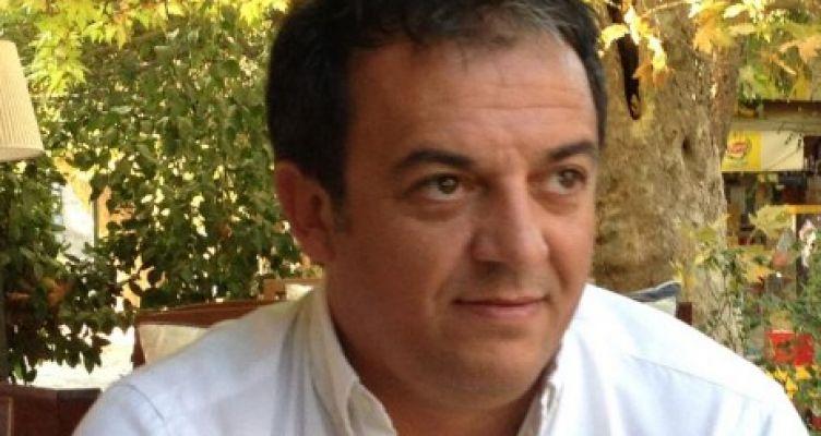 Ο Γιώργος Ζήσιμος, γραμματέας του «Κινήματος Αλλαγής» στην Αιτωλοακαρνανία