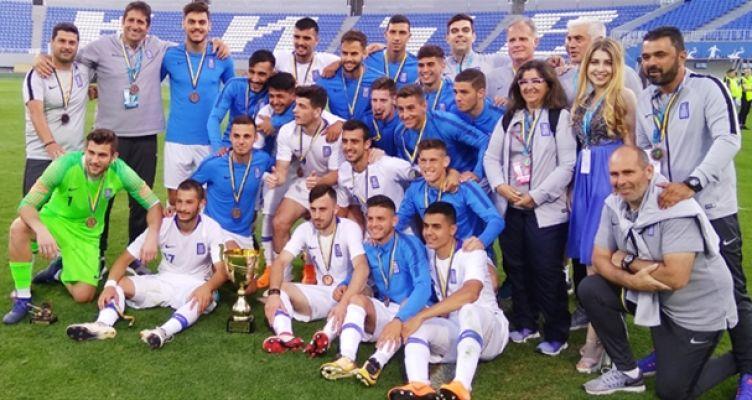 Νίκη για την Εθνική Ελπίδων στο Τουρνουά Βαλερί Λομπανόβσκι – Αγωνίστηκαν Βασιλούδης και Μωραΐτης