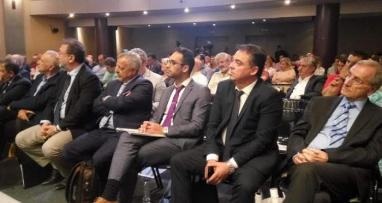 Η ομιλία του Δημ. Κωνσταντόπουλος στο 1ο Αναπτυξιακό Συνέδριο Αιτωλοακαρνανίας