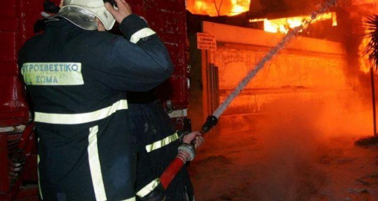 Πυρκαγιά μικρής έκτασης στο Τρίκορφο Ναυπακτίας (Φωτό)